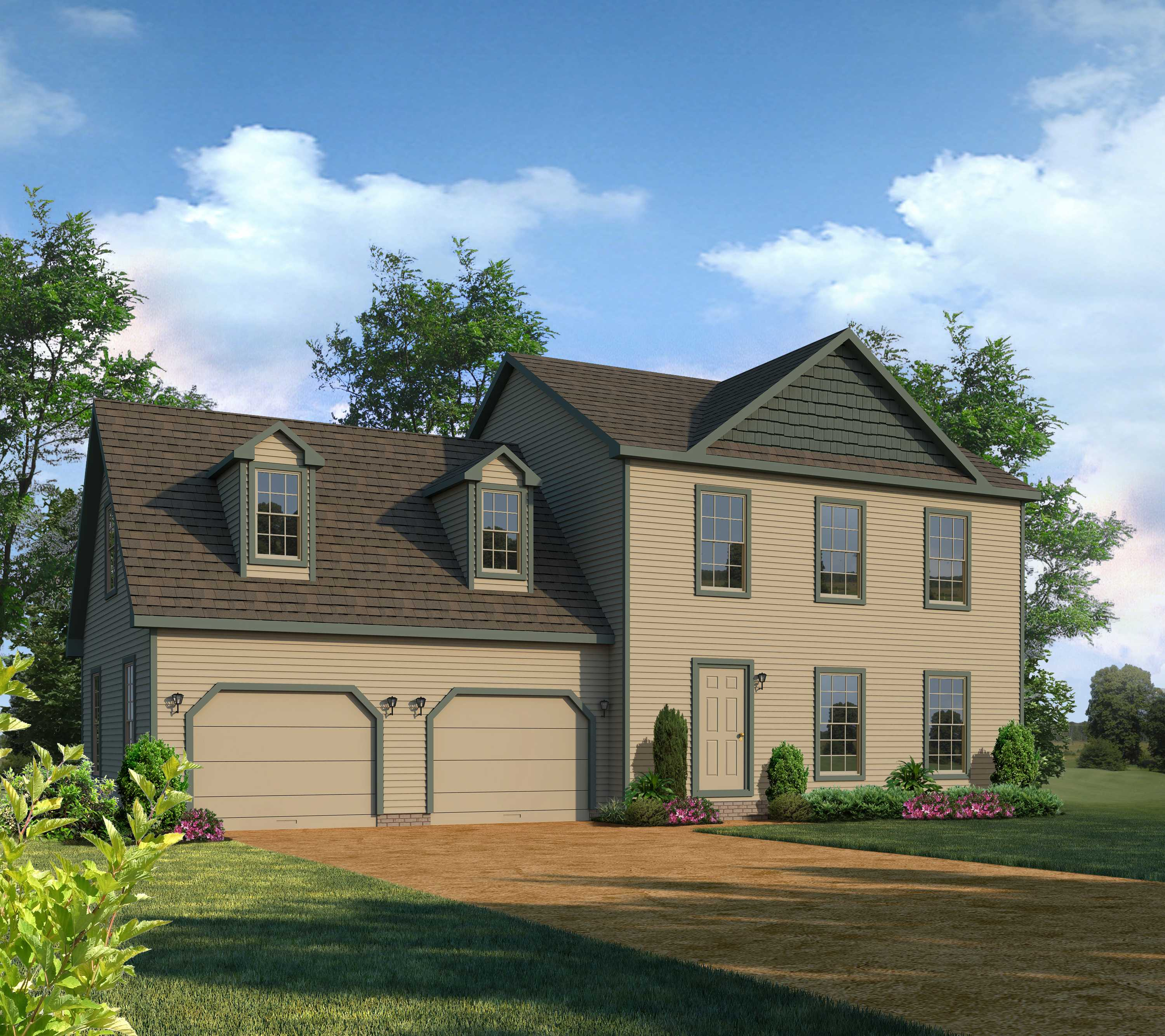 Two story waterford montage mountain homes for Two story model homes