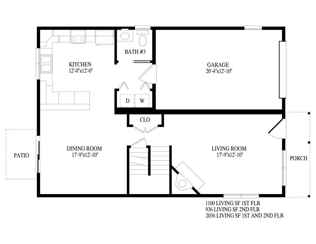 Two story brighton montage mountain homes - Kitchens by design new brighton mn ...