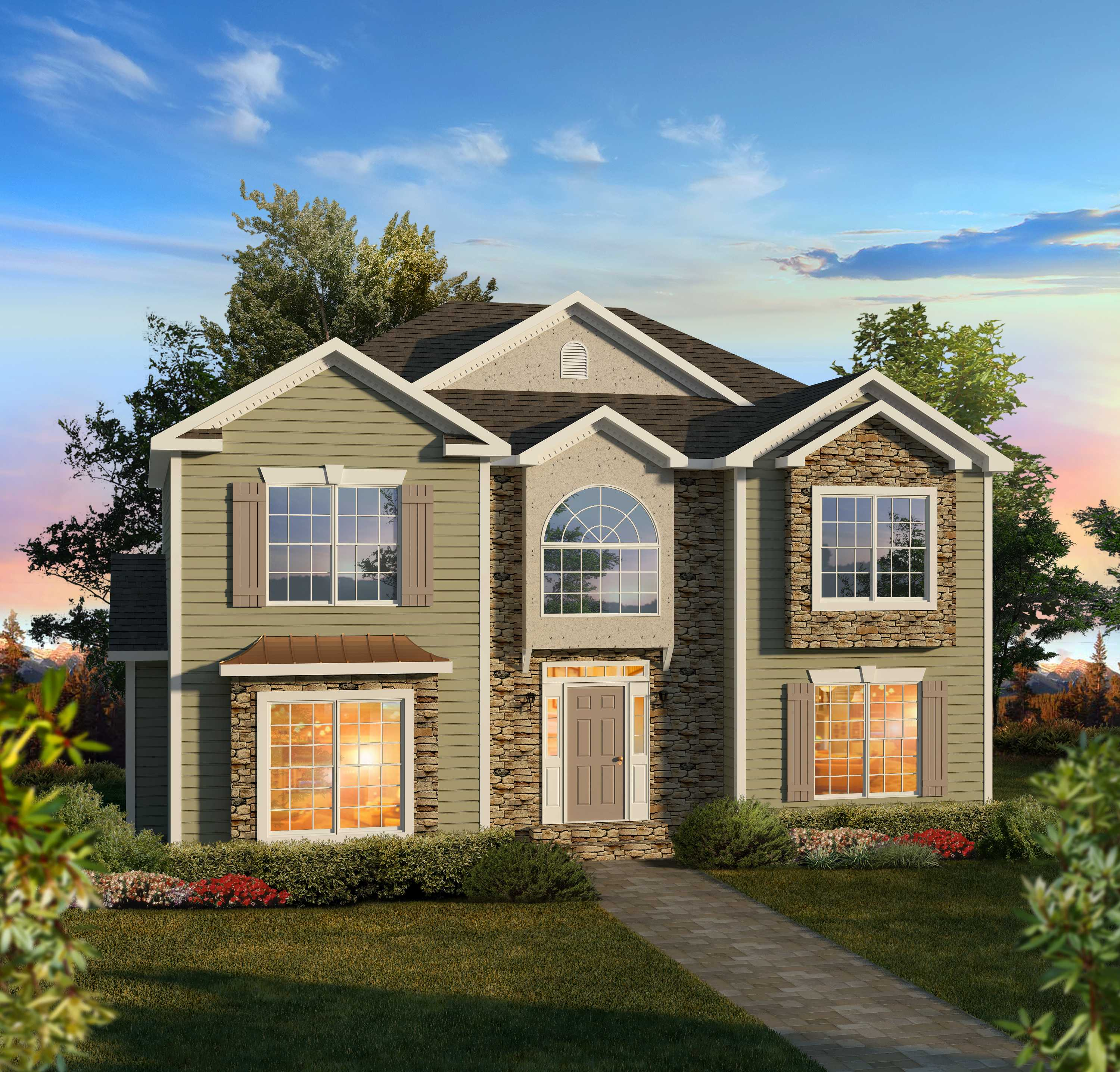 Two story covington montage mountain homes for Two story model homes