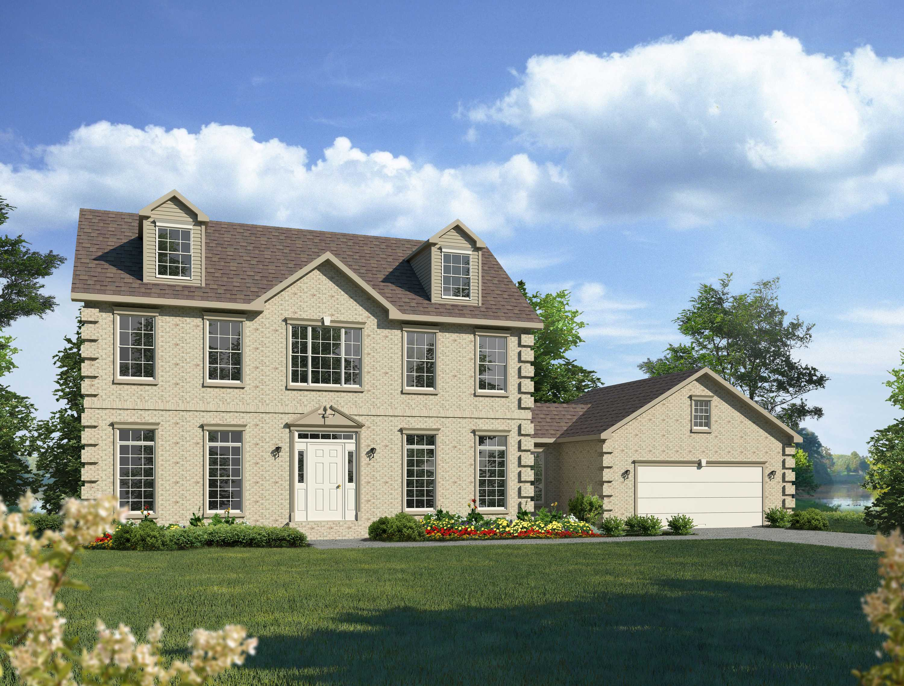 Two story niagara montage mountain homes for Two story model homes